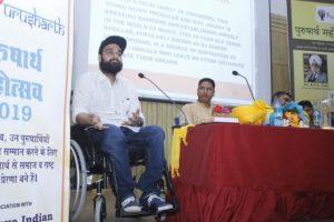 Varun Khullar Thank You Speech at Purusharth Award