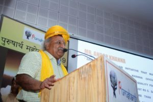 Anoop Khanna Thank You Speech at Purusharth Award