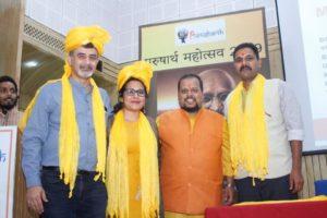 Deepika and Shonee at Purusharth Award