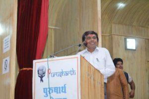 Laxmi Chandra Thank You Speech at Purusharth Award