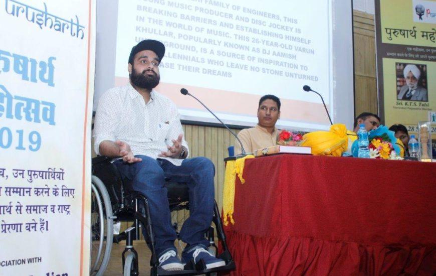 Varun Khullar At Purusharth Award